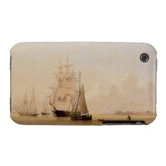 Fraktmålning (olja på kanfas) 2 iPhone 3 Case-Mate cases