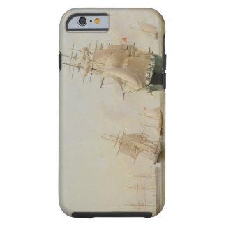 Fraktmålning (olja på kanfas) tough iPhone 6 skal