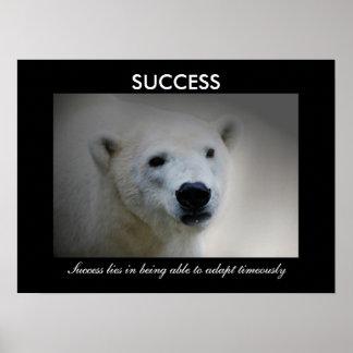 Framgång Affisch