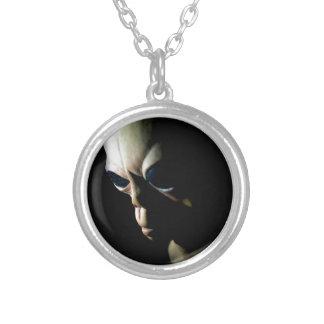 Främling Silverpläterat Halsband