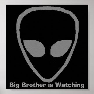 främlingen storebror håller ögonen på poster
