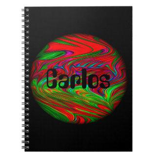 Främmande anteckningsbok för planetpersonlignamn