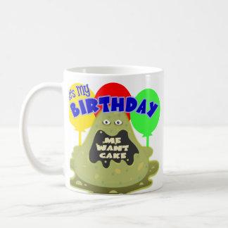 Främmande födelsedaggåva för utrymme mugg