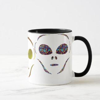 Främmande kaffemugg