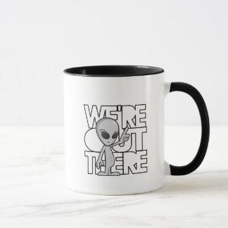 Främmande kaffemugg för grå färg