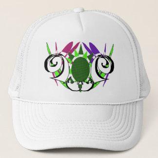 främmande krabba för hattabstraktdesign keps