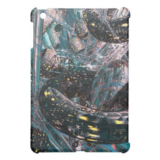 Främmande stadsiPadfodral iPad Mini Skal