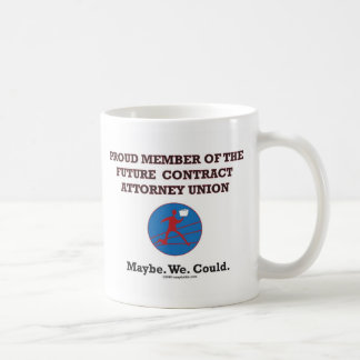 Framtid avtalar advokatunion kaffemugg