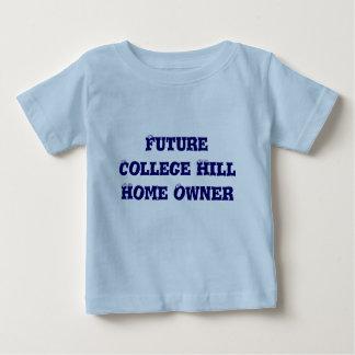 Framtida ägare för högskolabackehem t-shirt