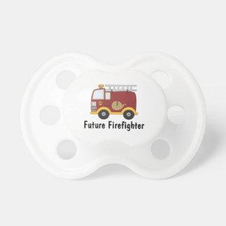 Framtida brandmanpersonlig napp