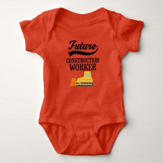 Framtida byggnadsarbetareBulldozerdräkt Tee Shirt