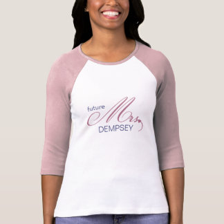 Framtida Fru Anpassade T-tröja