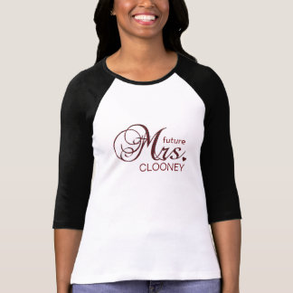 Framtida Fru Anpassade T-tröja Tee