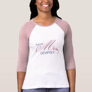Framtida Fru Anpassade T-tröja Tee Shirt