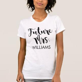 Framtida Fru   personligbröllop T-shirt