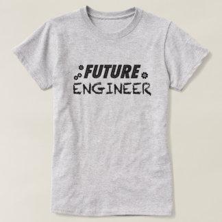 Framtida ingenjörkvinna t-skjorta t-shirt
