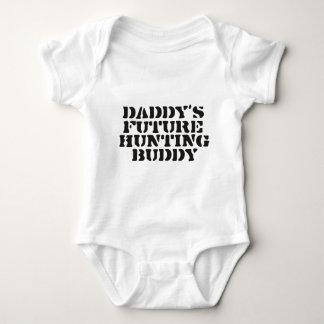 Framtida jaktkompis för pappor tee shirt