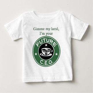 Framtida kaffe kedjar vd t-shirts