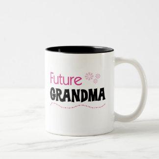 Framtida mormor Två-Tonad mugg