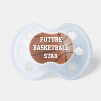 Framtida nappar för basketstjärnababy