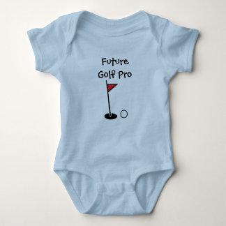 """""""Framtida Pro"""" babyBodysuit för Golf T-shirt"""