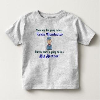 Framtida skjorta för storebror för tågledare t shirt