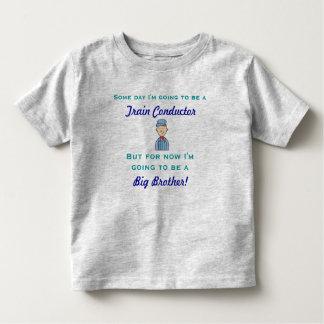 Framtida skjorta för storebror för tågledare tee shirt