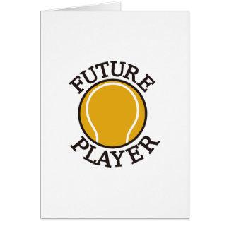 Framtida spelare hälsningskort
