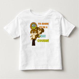 Framtida stor kusin för ekorrar tee shirt