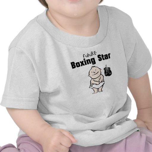 Framtida T-tröja för boxningstjärnapojke