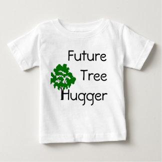 Framtida tree hugger miljömässigt chic T-tröja T-shirt