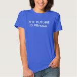 Framtiden är kvinnlig t-shirt