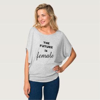 Framtiden är kvinnlig t shirts