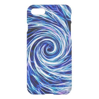 Framtidsabstrakt - Clearly™ för BL-/Purple-iPhone iPhone 7 Skal