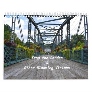 Från den trädgårds- väggkalendern kalender