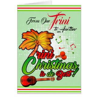 Från en Trini till Another - jul Hälsningskort
