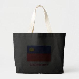 Från Liechtenstein flagga Tygkasse