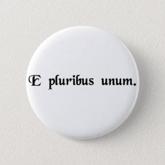 Från många en standard knapp rund 5.7 cm