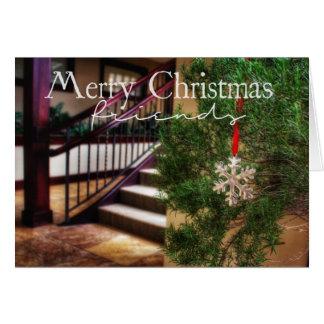 Från mitt hus till den din julkortet hälsningskort