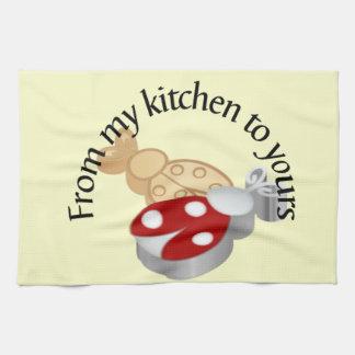 Från mitt kök till den din kökshandduken kökshandduk