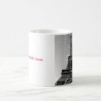 Från Paris med kärlekmuggen Magisk Mugg