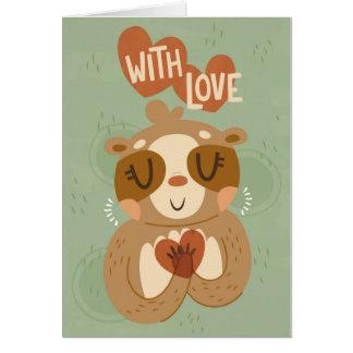 Från Sloth med kärlek Hälsningskort