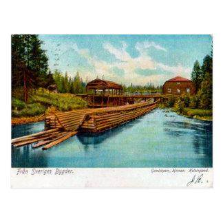 Fran Sveriges Bygder 1912 Vykort