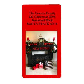 Från vår nya hem- julspis fraktsedel