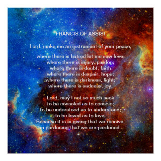 Francis av den Assisi bönen