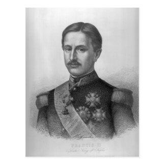 Francis II av tvåna Sicilies Vykort