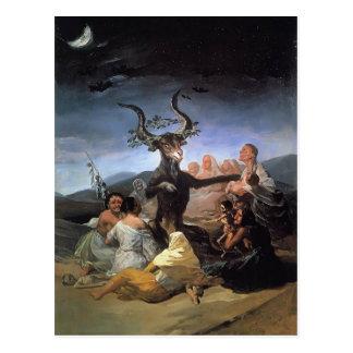 Francisco Goya- häxasabbat Vykort