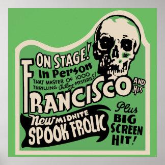 Francisco spökeFrolic 1941 Poster