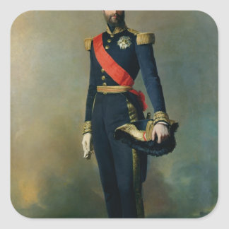 Francois-Ferdinand-Philippe d'Orleans Fyrkantigt Klistermärke