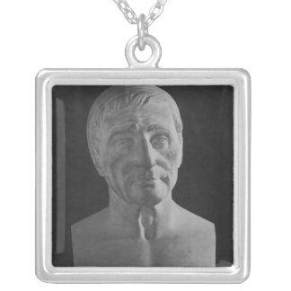Francois Marius Granet, 1851 Silverpläterat Halsband